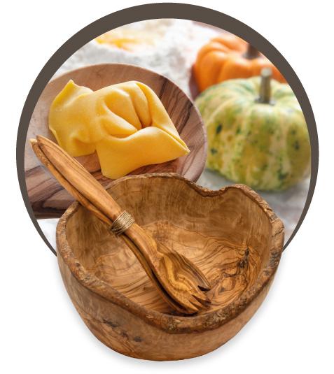 Oggettistica il legno di Ulivo - D'olivo